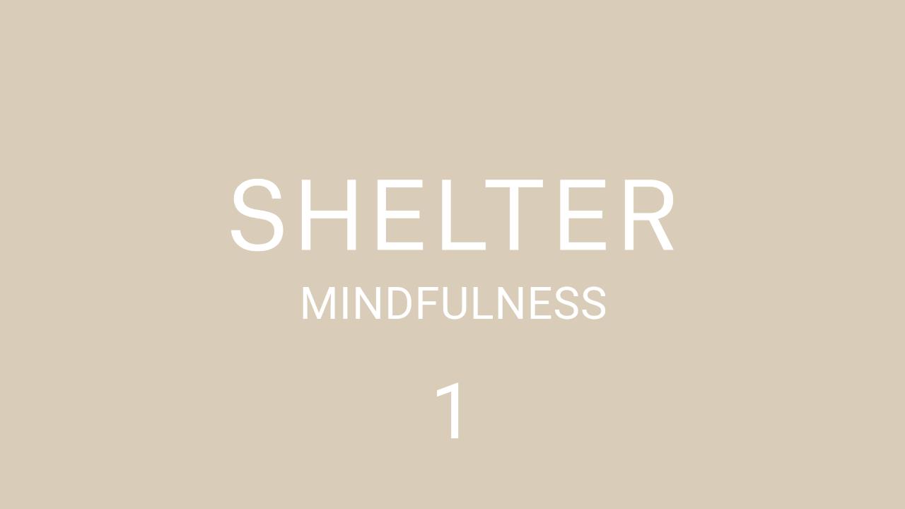 One Minute Mindfulness Meditation
